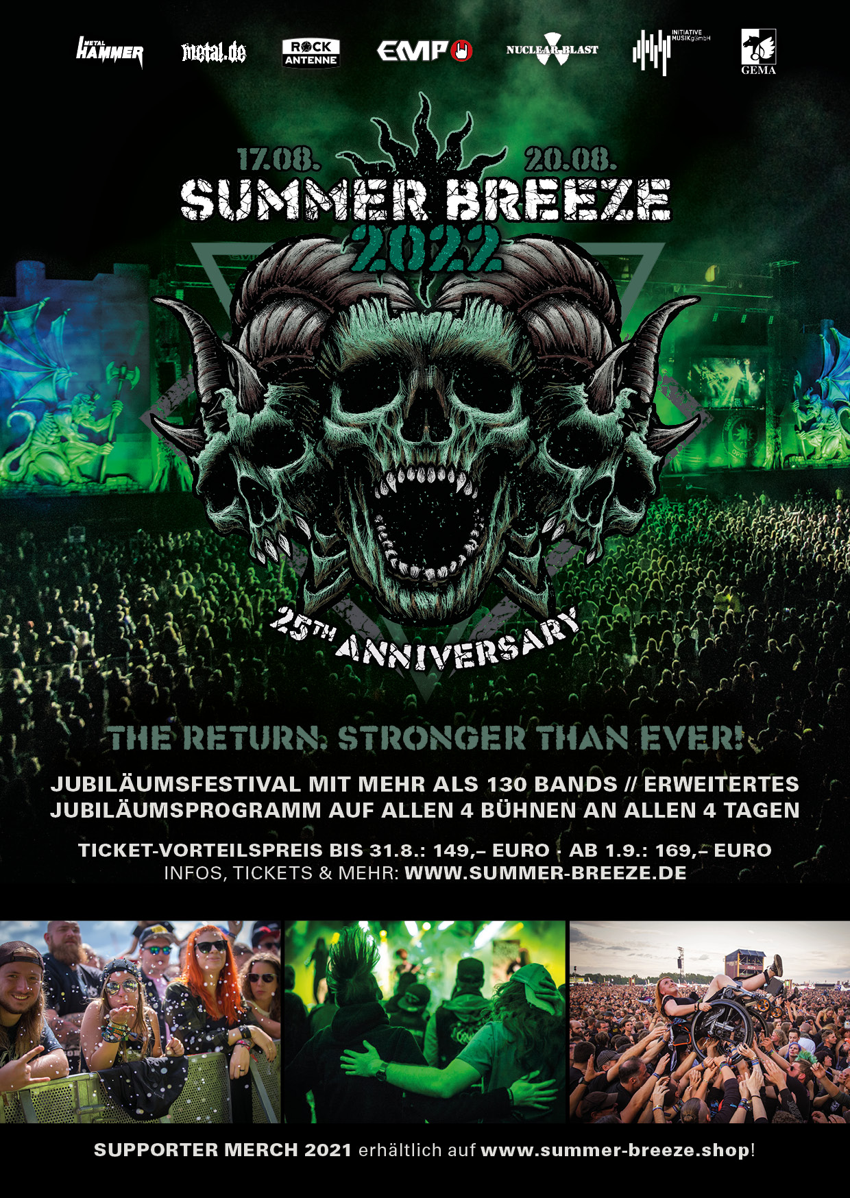 Summer Breeze 2015 2015 poster